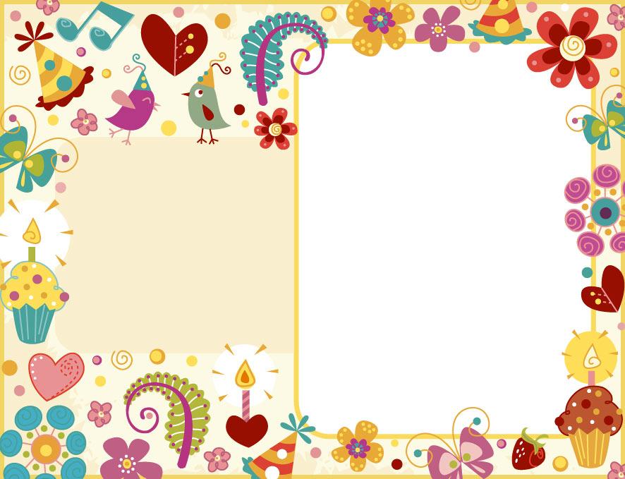 Tarjeta de cumplea os color para personalizar y compartir - Modelos de tarjetas de cumpleanos para adultos ...