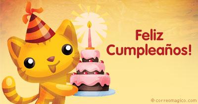 Tarjeta Para Facebook De Cumpleaños