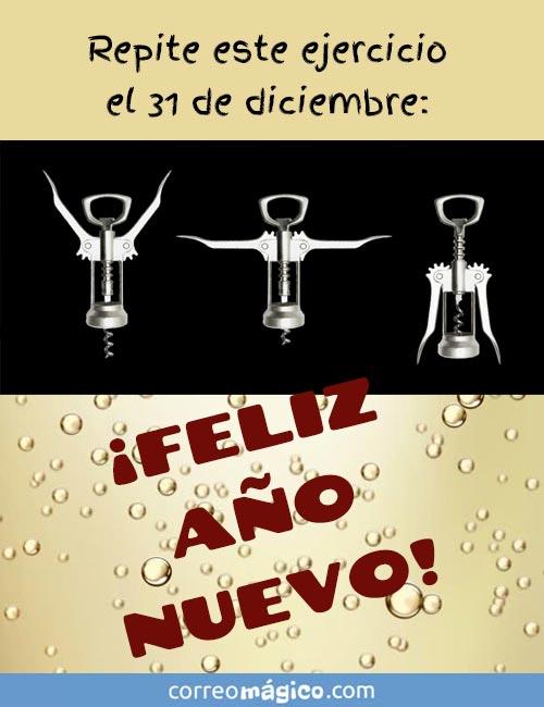 Repite este ejercicio el 31 de diciembre. ¡FELIZ AÑO NUEVO!