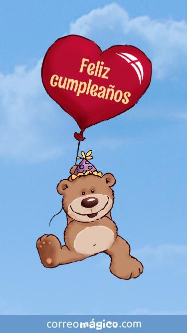 Muy feliz cumpleaños
