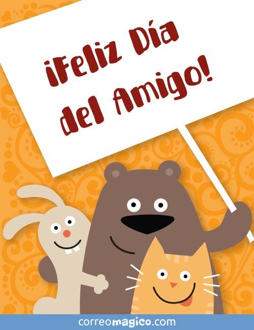 ¡Feliz Día del Amigo!