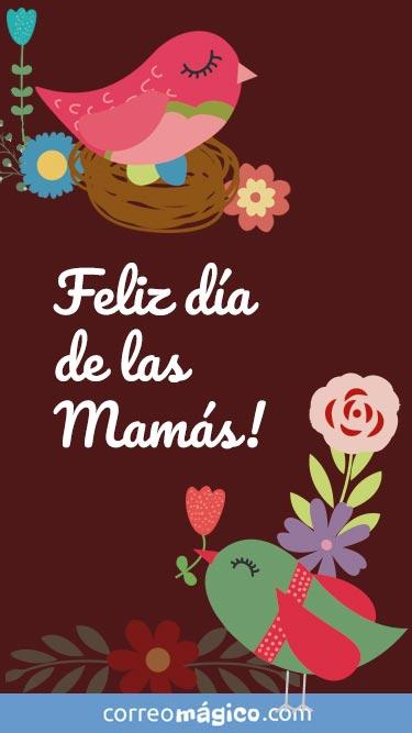 Feliz día de las Mamás