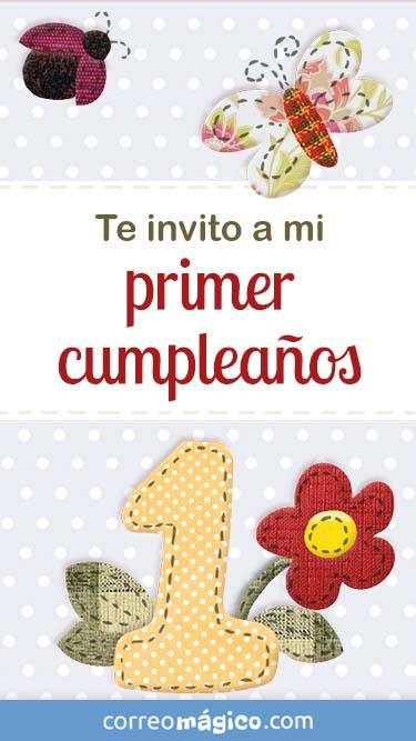 Toca En La Imagen Para Ver La Invitacion De Cumpleaños De 1 Año