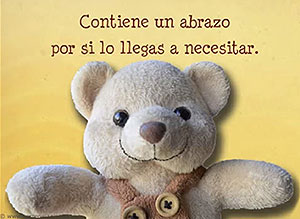 Imagen de Te envio un abrazo para compartir gratis. Tarjeta con abrazo