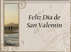 Imagen de San Valentín para compartir gratis. Camina a mi lado