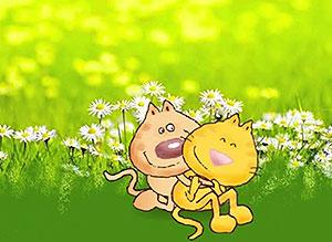 Imagen de Día de la Amigo para compartir gratis. No quiero perderte nunca