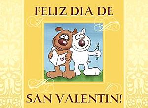Imagen de San Valentín para compartir gratis. A un verdadero amigo