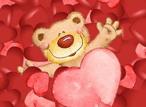 Imagen de Aniversarios para compartir gratis. Besos y abrazos