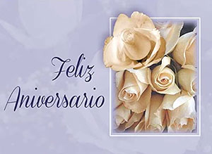 Imagen de Aniversarios para compartir gratis. Que su Amor siga floreciendo