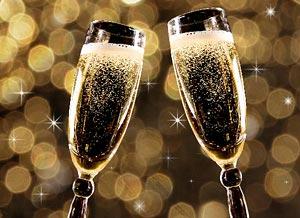 Imagen de Año Nuevo para compartir gratis. Brindis