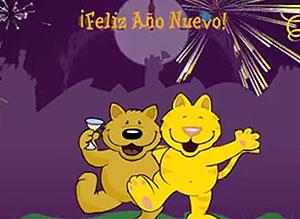 Imagen de Año Nuevo para compartir gratis. Que sobren motivos para celebrar!