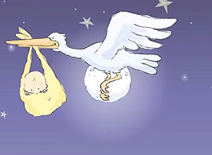 Imagen de Bebes para compartir gratis. Han recibido un regalo del Cielo