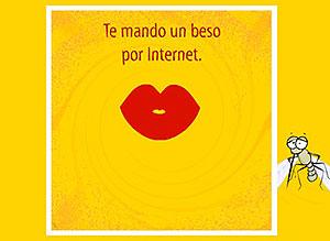 Imagen de Te envio un beso para compartir gratis. Quiero comerte a besos