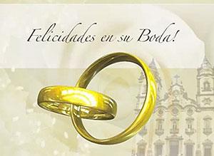 Imagen de Bodas para compartir gratis. Felicidades en su Boda!