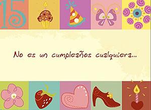 Imagen de Cumpleaños para compartir gratis. Disfruta tus 15!