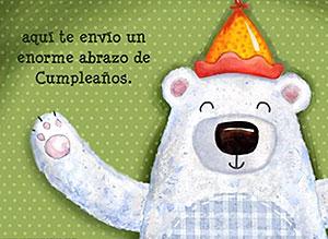 Imagen de Cumpleaños para compartir gratis. Un abrazo a la distancia