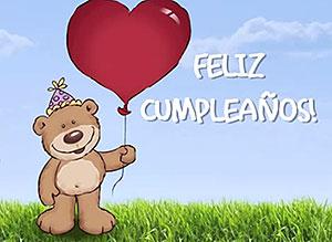 Imagen de Cumpleaños para compartir gratis. Ocupas un lugar en mi corazón
