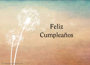 Imagen de Cumpleaños para compartir gratis. Hoy no puedo celebrar contigo...