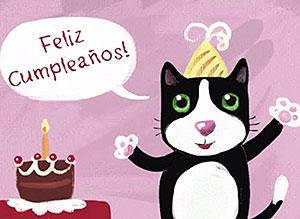 Imagen de Cumpleaños para compartir gratis. A la distancia te recuerdo