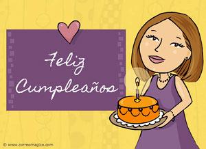 Imagen de Cumpleaños para compartir gratis. Feliz Cumpleaños, prima!