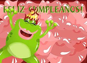 Imagen de Cumpleaños para compartir gratis. Un beso por cada año que cumples