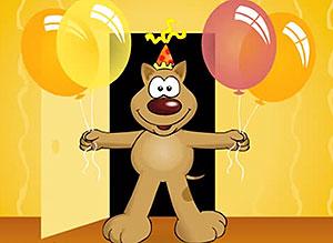 Imagen de Cumpleaños para compartir gratis. Como no podré saludarte en persona