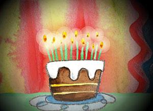 Imagen de Cumpleaños para compartir gratis. Déjame realizar tus deseos, mi amor