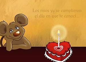 Imagen de Cumpleaños para compartir gratis. Que tus deseos se cumplan, mi amor