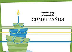 Imagen de Cumpleaños para compartir gratis. Unas líneas para desearte lo mejor