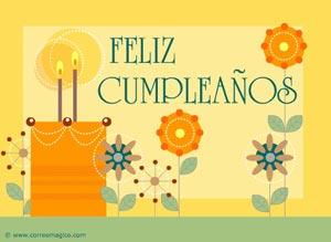 Imagen de Cumpleaños para compartir gratis. Es un placer trabajar contigo