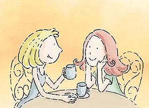 Imagen de Día de la Amigo para compartir gratis. Las buenas amigas son ángeles
