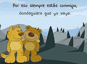 Imagen de Día de la Amigo para compartir gratis. Al amigo que está lejos….