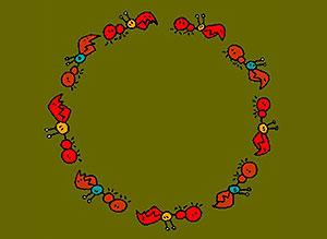 Imagen de Dia del Trabajador para compartir gratis. Trabajo de hormigas