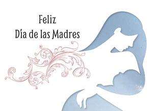 tarjeta de día de la madre una madre tiene algo de dios envia