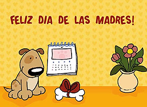 Imagen de Día de las Madres para compartir gratis. Todos los días son tuyos, mamá!