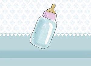 Imagen de Día de las Madres para compartir gratis. En tu primer Día de las Madres