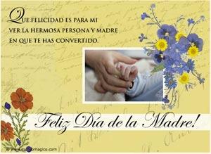 Imagen de Día de las Madres para compartir gratis. Para mi querida hija