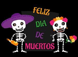 Imagen de Felicitaciones para compartir gratis. Feliz Día de Muertos
