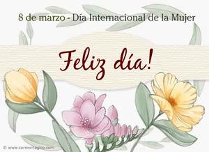 Imagen de Dia de la Mujer para compartir gratis. La bendición de ser Mujer