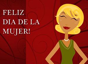 Imagen de Dia de la Mujer para compartir gratis. Detrás de toda gran mujer...