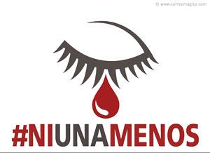 Imagen de Dia de la Mujer para compartir gratis. Basta de violencia contra la Mujer