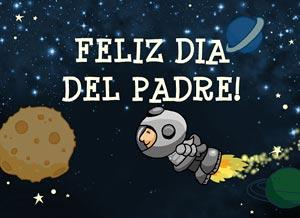Imagen de Día del Padre para compartir gratis. Al mejor papá del universo!