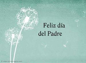 Imagen de Día del Padre para compartir gratis. Aunque ya no nos veamos a diario...