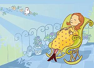 Imagen de Día del Padre para compartir gratis. Feliz primer Día del Padre