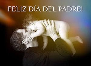 Imagen de Día del Padre para compartir gratis. El mejor regalo de Dios