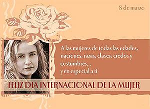 Imagen de Dia de la Mujer para compartir gratis. Mujeres del mundo