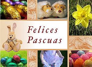 Imagen de Pascuas para compartir gratis. Alegrías en Pascuas
