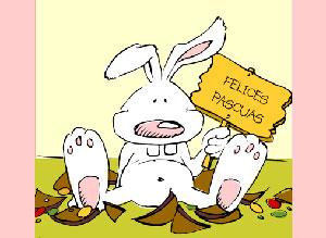 Imagen de Pascuas para compartir gratis. Sorpresa de Pascuas!