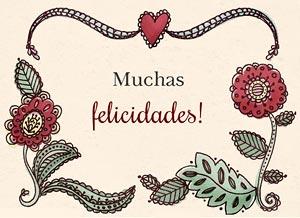 Imagen de Felicitaciones para compartir gratis. Amor y alegría