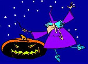 Imagen de Halloween para compartir gratis. Magia negra